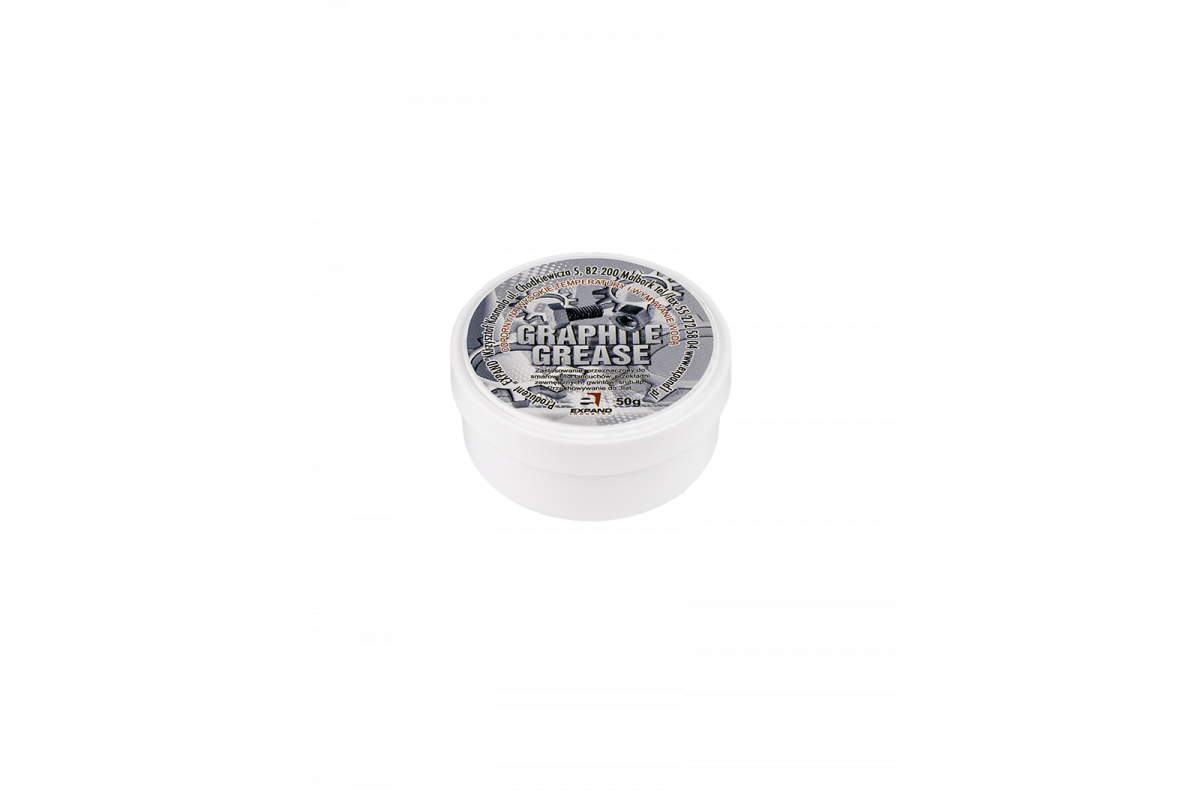 Фото Смазка EXPAND GRAPHITE густая для метал. соединений, баночка 50ml с официального сайта OSKAR™