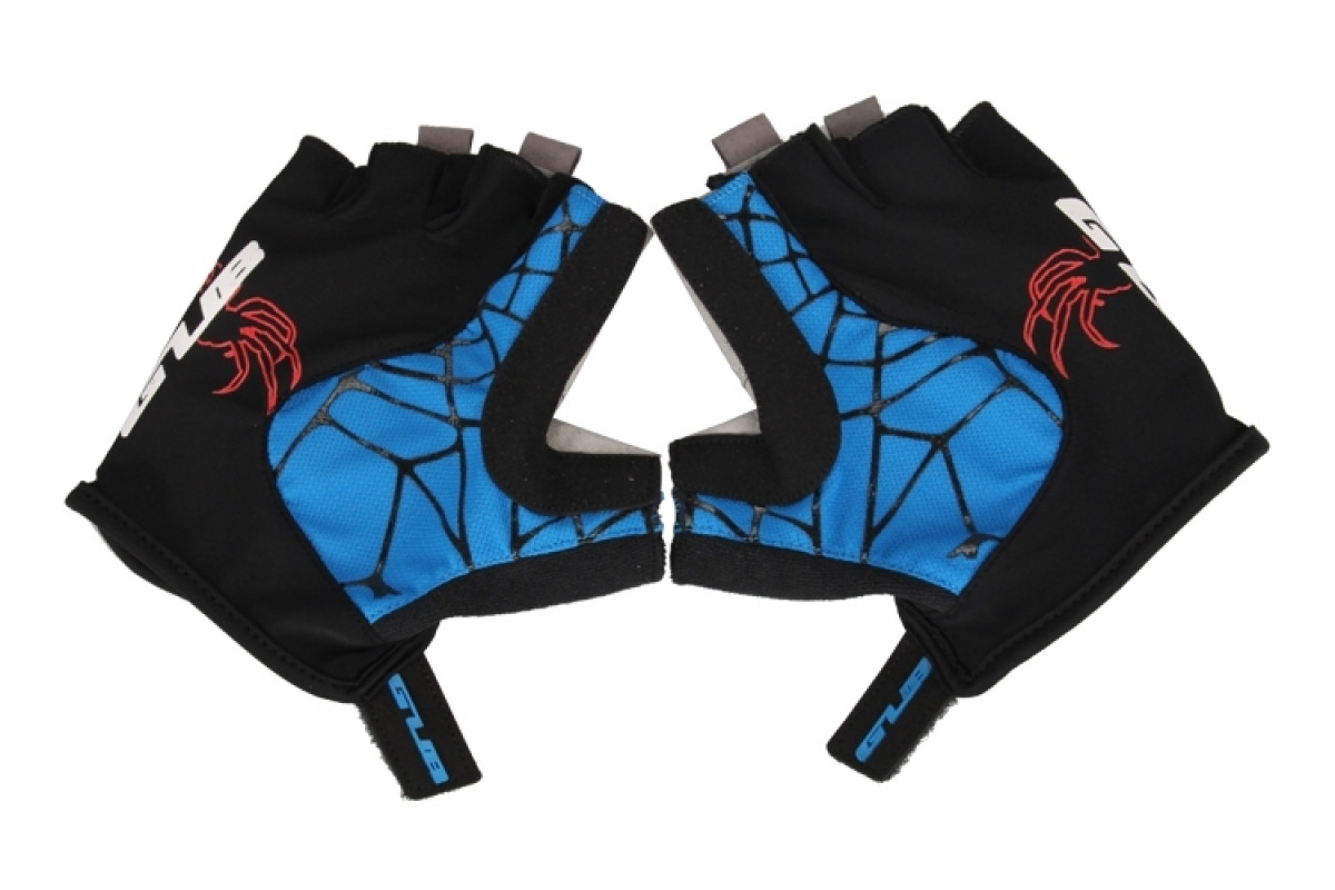Фото Перчатки велосипедные GUB S036 черно-синий XL с официального сайта OSKAR™