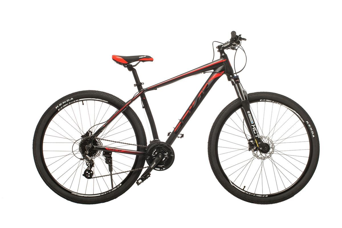 """Фото Велосипед Oskar 29"""" JURA черно-красный (29-1806h-rd) с официального сайта OSKAR™"""