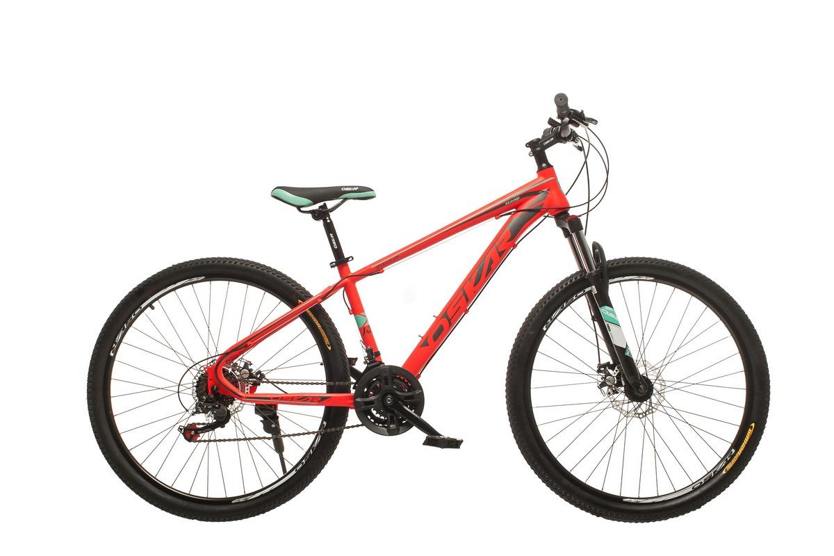 """Фото Велосипед Oskar 27,5""""1857 красный (27,5-1857-rd) с официального сайта OSKAR™"""