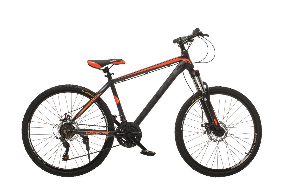 """Фото Велосипед Oskar 26""""M124 серо-оранжевый (26-m124-gr+or) с официального сайта OSKAR™"""