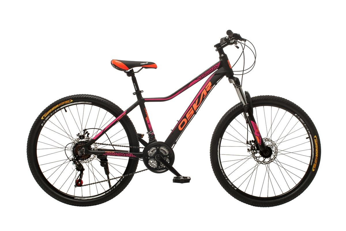 """Фото Велосипед Oskar 26""""Lady New черный (26-m122-bk) с официального сайта OSKAR™"""