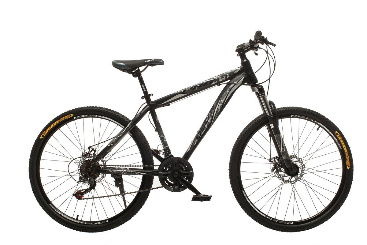 """Фото Велосипед Oskar 26""""M123 черно-белый (26-m123-bk+wt) с официального сайта OSKAR™"""