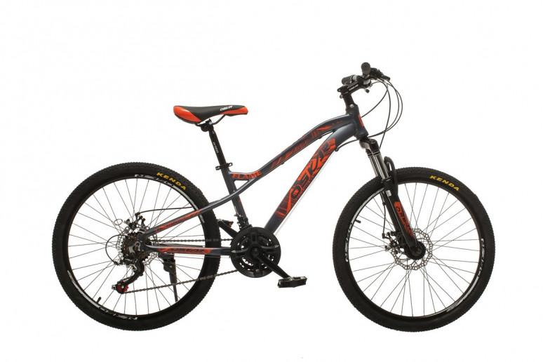 """Велосипед Oskar 24""""FLAME серый (24-m121-gr)"""