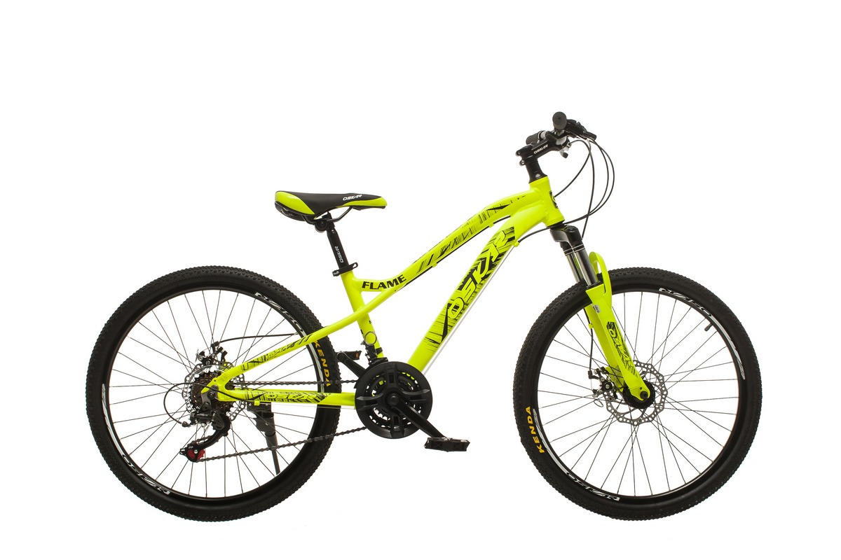 """Фото Велосипед Oskar 24""""FLAME желтый (24-m121-ye) с официального сайта OSKAR™"""
