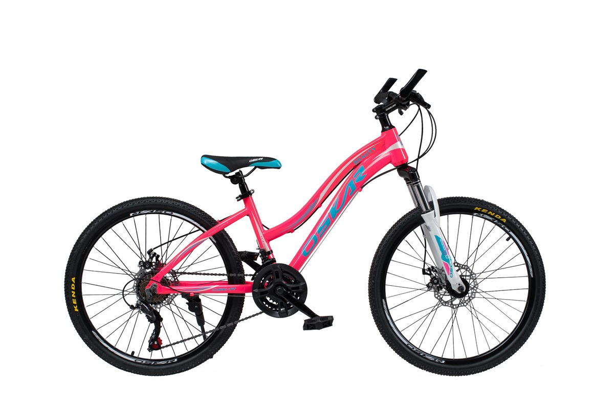 """Фото Велосипед Oskar 24""""BEAUTY розовый (24-k405-pk) с официального сайта OSKAR™"""