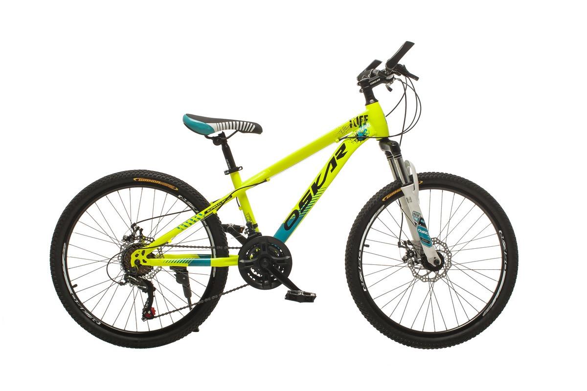 """Фото Велосипед Oskar24""""M16021 желтый (24-m16021-ye) с официального сайта OSKAR™"""