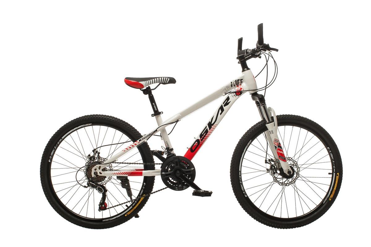 """Фото Велосипед Oskar24""""M16021 белый (24-m16021-wt) с официального сайта OSKAR™"""