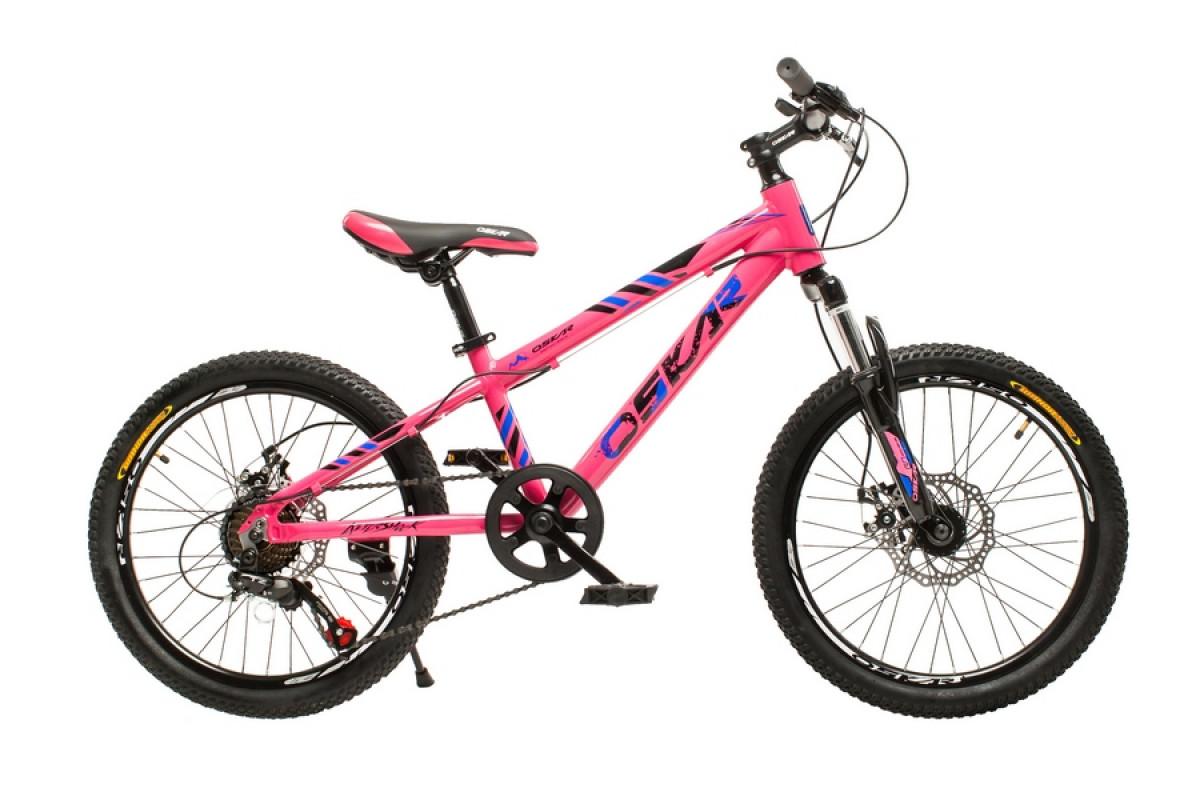 """Фото Велосипед Oskar 20""""-M1825 розовый (20-m1825-pk) с официального сайта OSKAR™"""