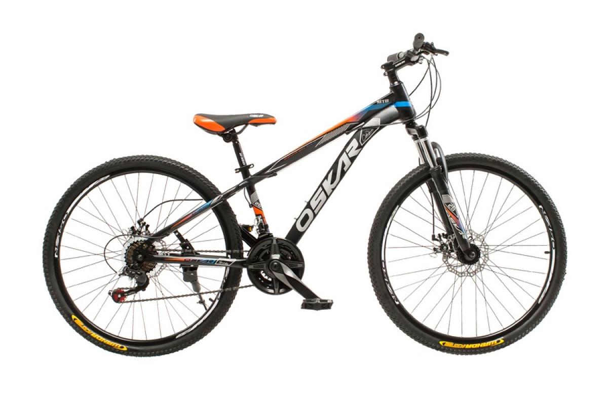 """Фото Велосипед Oskar 26""""M129 черный (26-m129-bk) с официального сайта OSKAR™"""