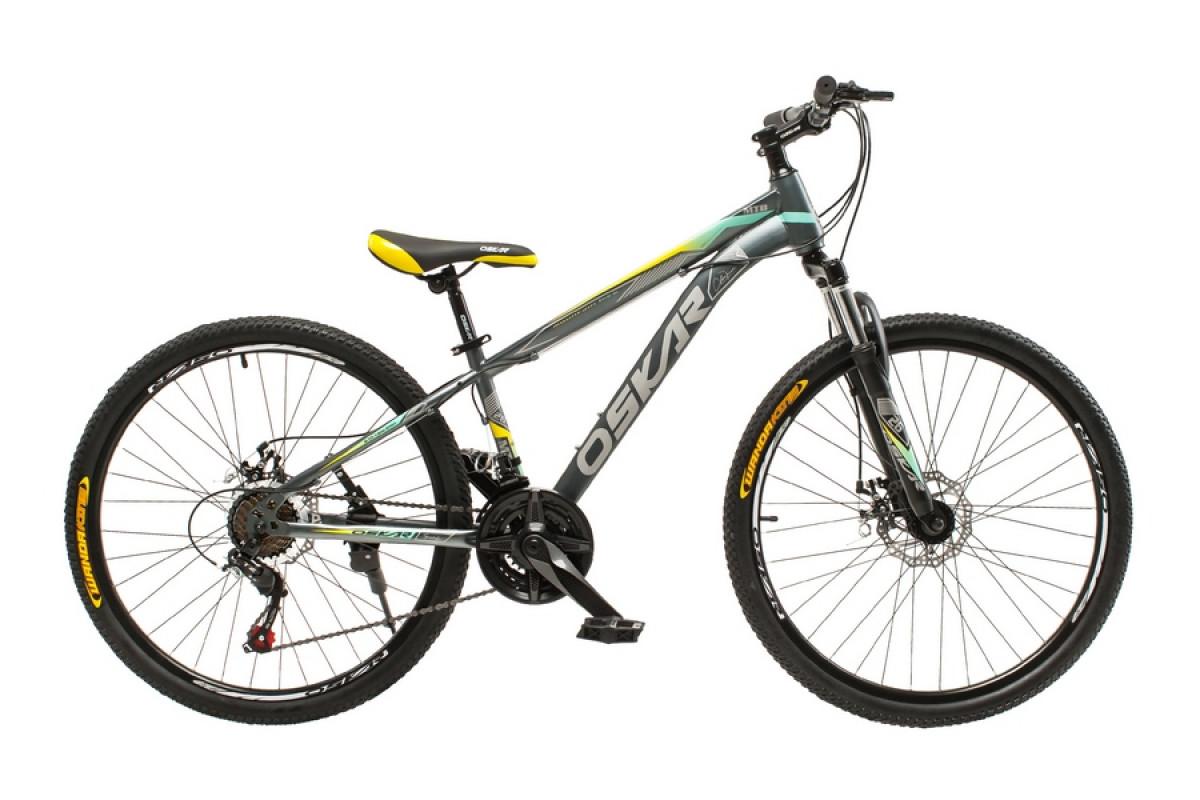 """Фото Велосипед Oskar 26""""M129 серый (26-m129-gr) с официального сайта OSKAR™"""
