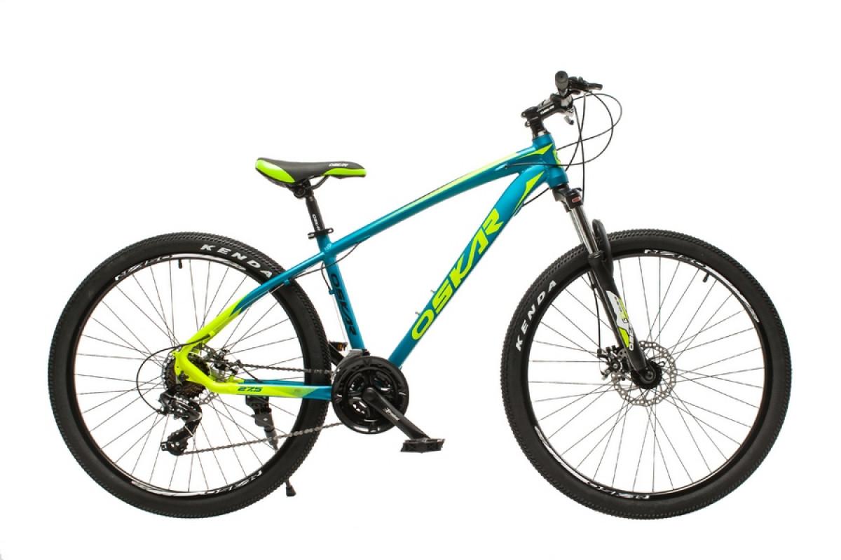 """Фото Велосипед Oskar 27,5"""" М103 голубой (27,5-m103-bl) с официального сайта OSKAR™"""