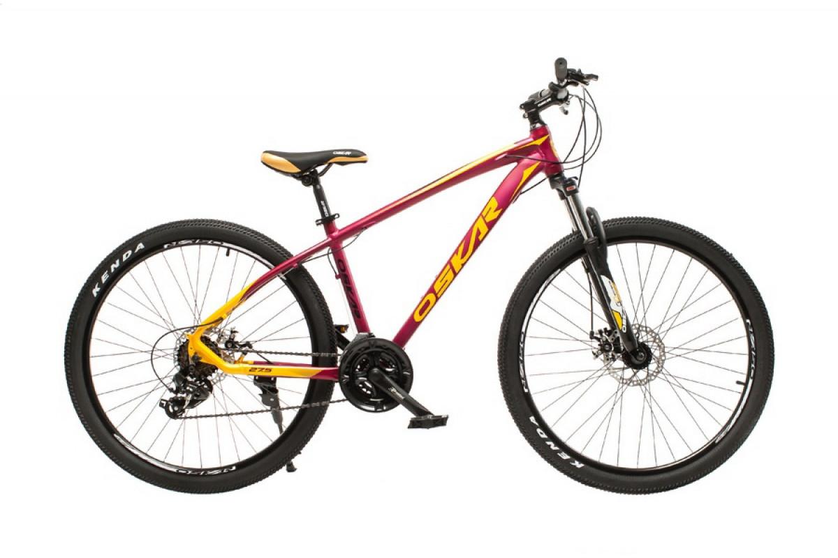 """Фото Велосипед Oskar 27,5"""" М103 бордовый (27,5-m103-rd) с официального сайта OSKAR™"""