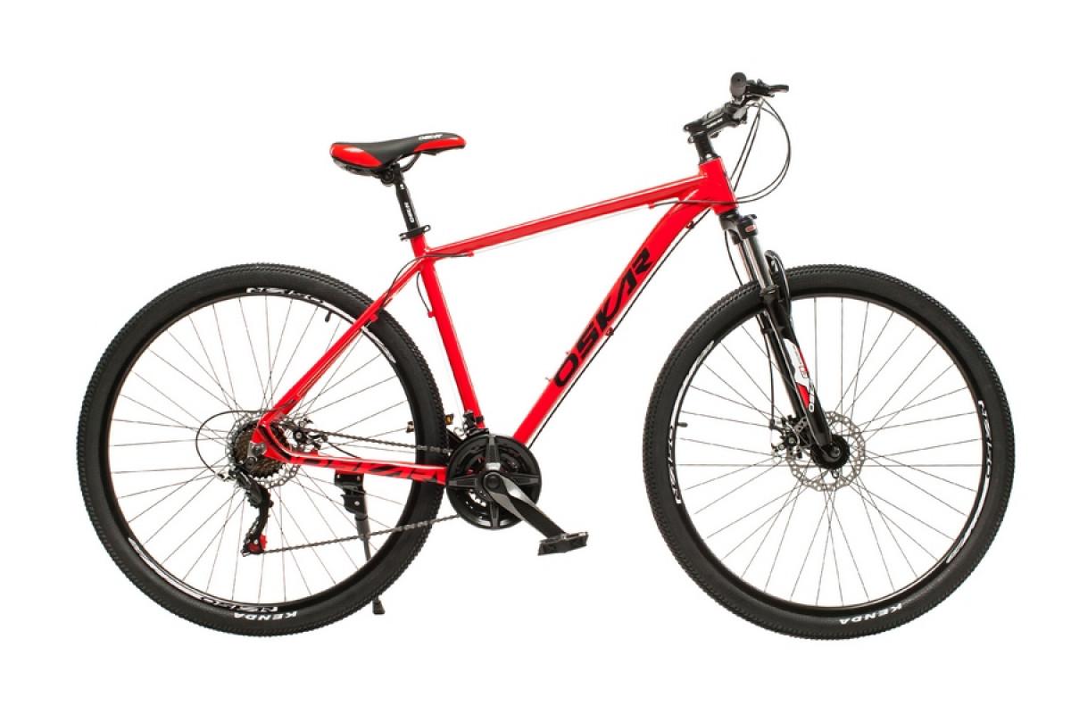 """Фото Велосипед Oskar 29"""" M126 красный (29-m126-rd) с официального сайта OSKAR™"""