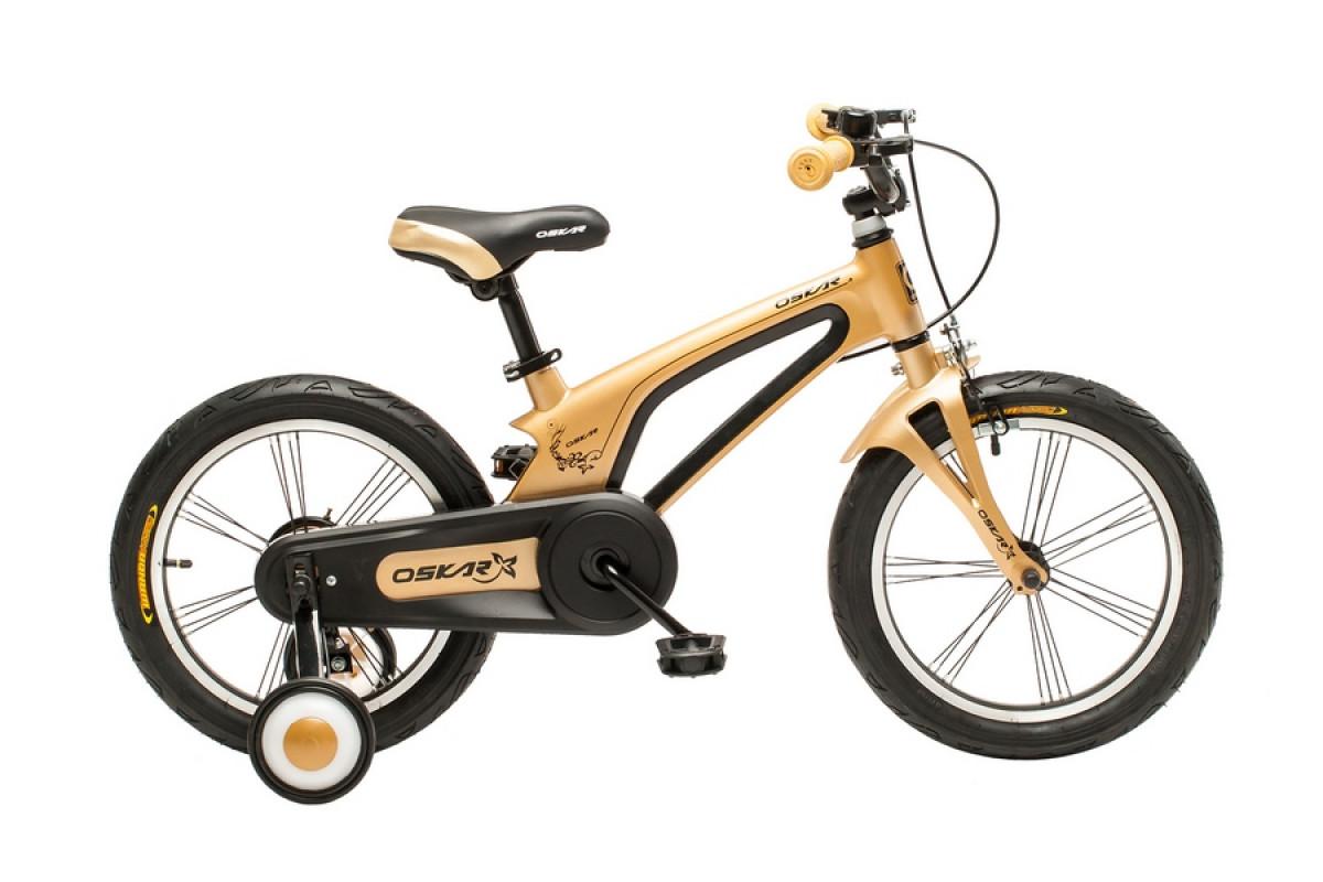 """Фото Велосипед Oskar 16""""-UK601 золотой (16-uk601-gd) с официального сайта OSKAR™"""