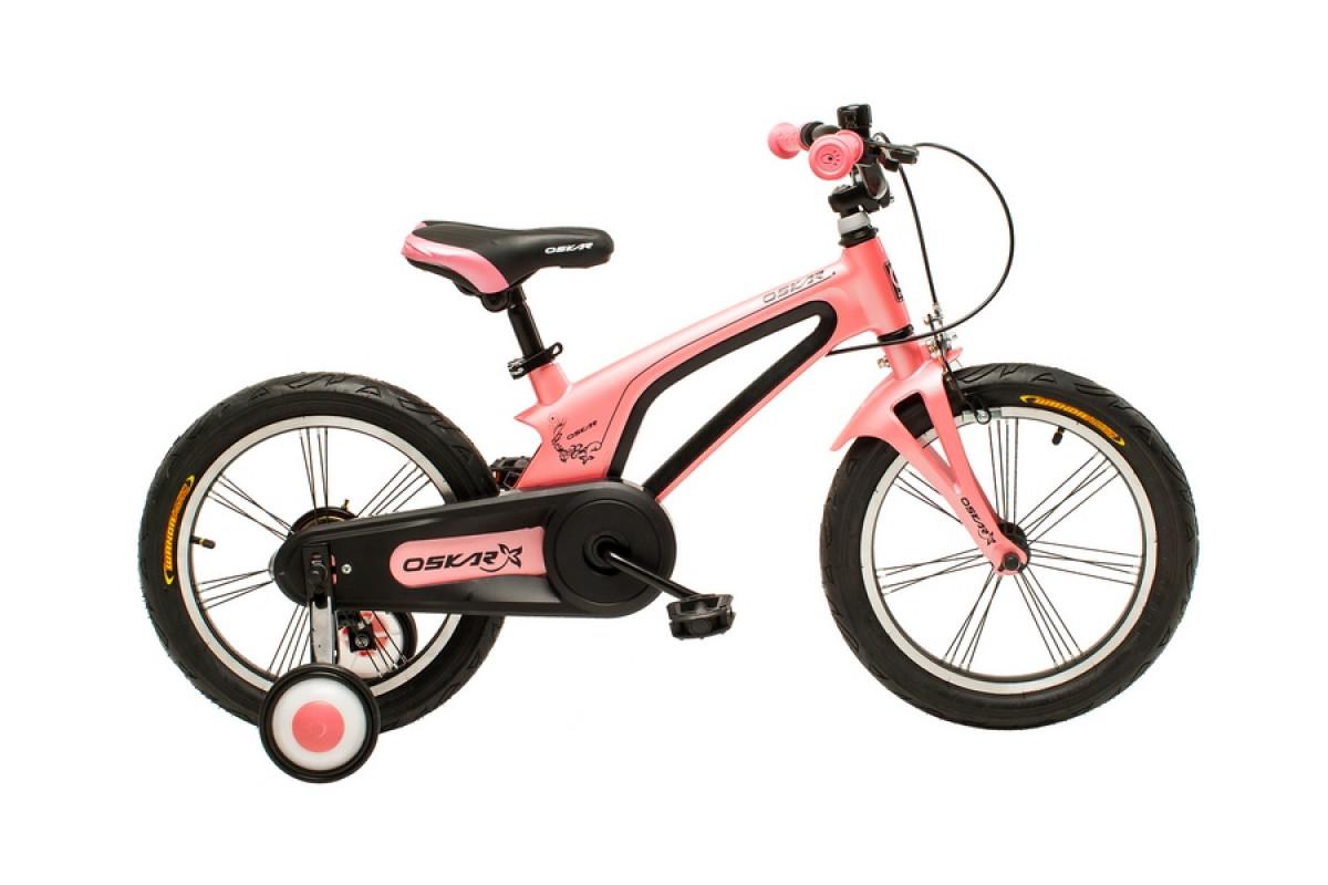 """Фото Велосипед Oskar 16""""-UK601 розовый (16-uk601-pk) с официального сайта OSKAR™"""