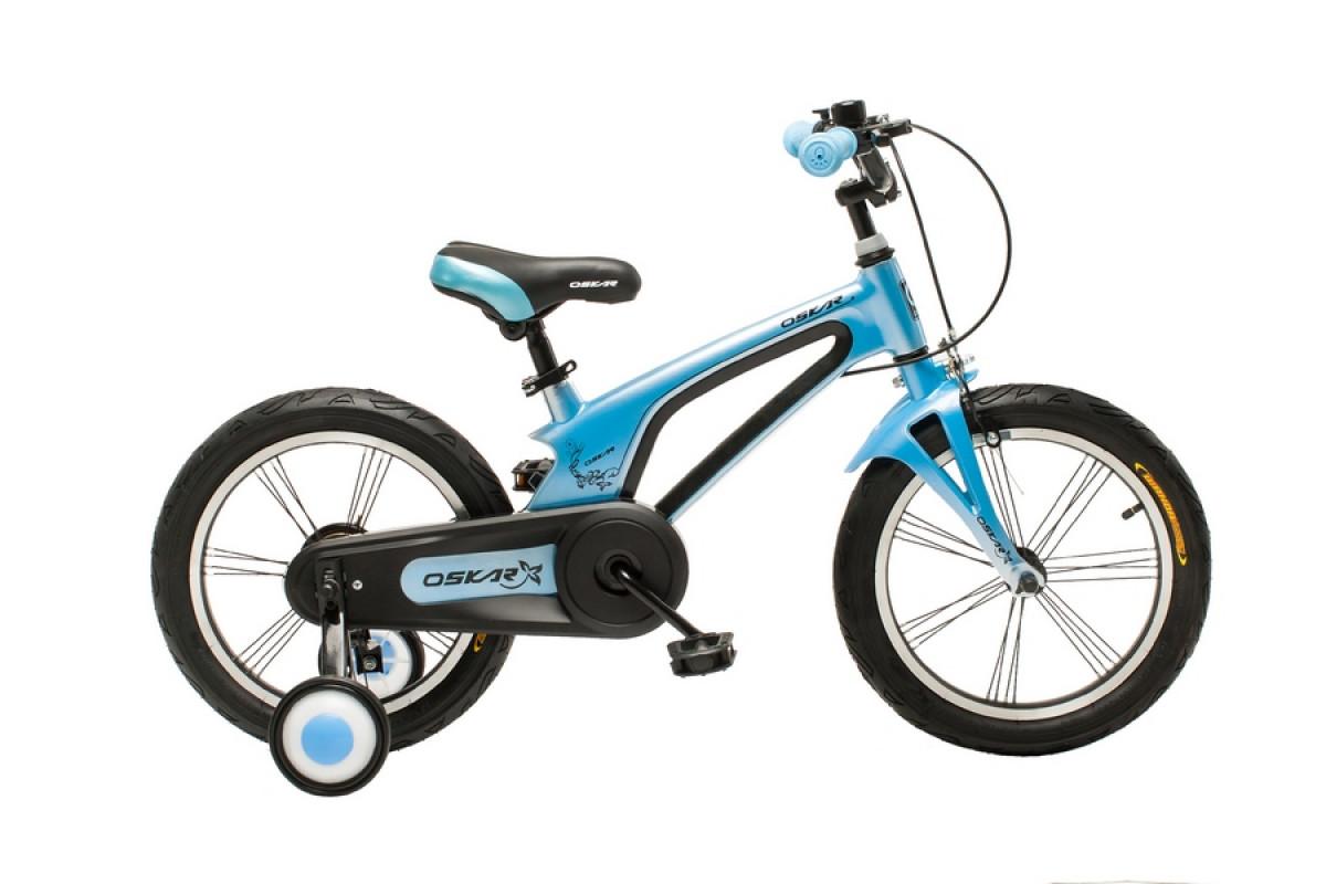 """Фото Велосипед Oskar 16""""-UK601 синий (16-uk601-bl) с официального сайта OSKAR™"""