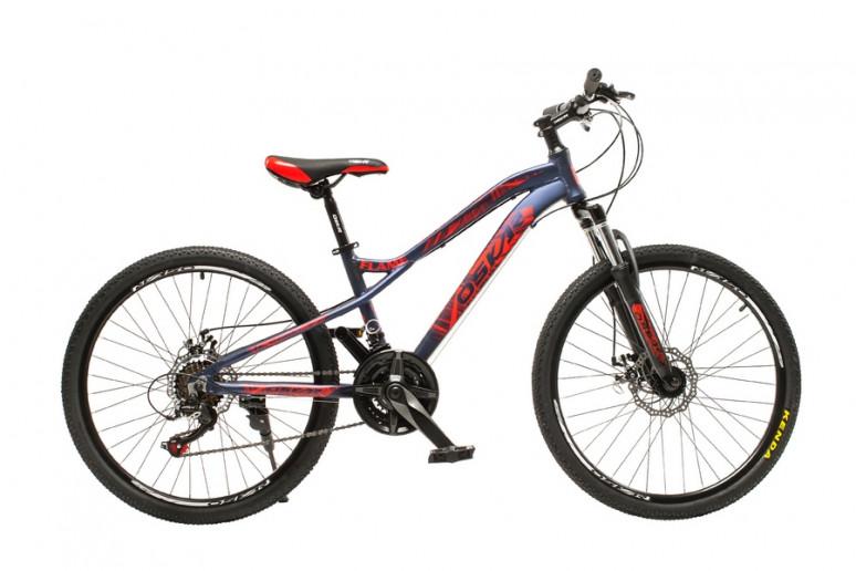 """Велосипед Oskar 24""""FLAME черный (24-m121-bk)"""