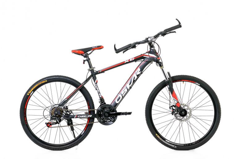 """Велосипед Oskar 26"""" X6 черно-красный (26-1618-rd)"""