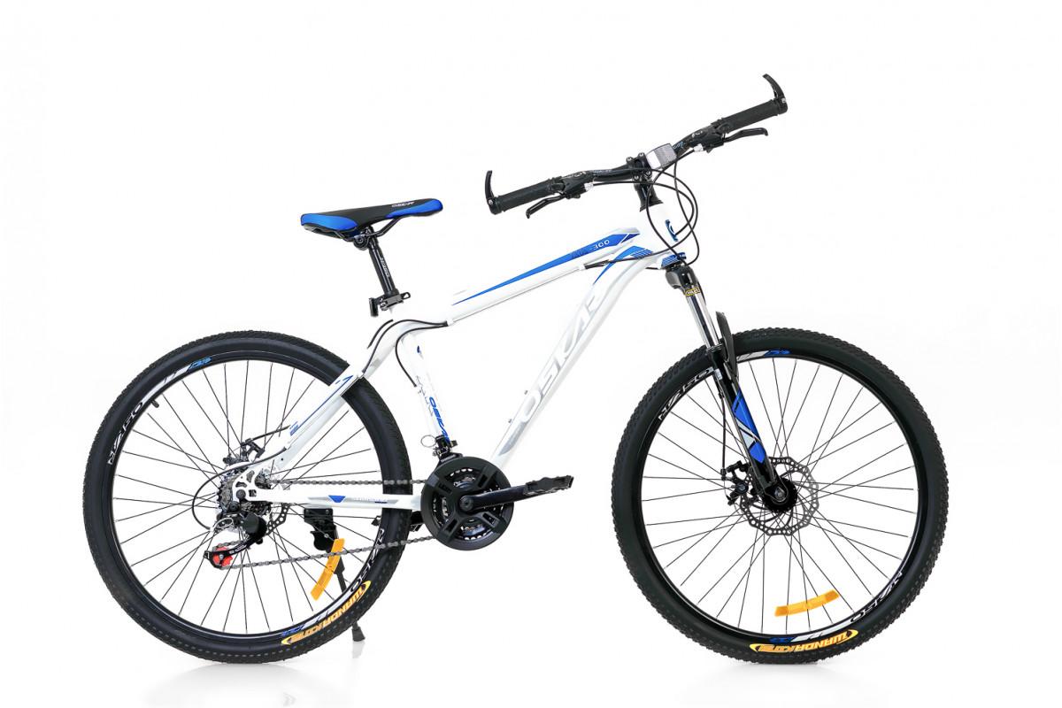 """Фото Велосипед Oskar 26"""" XK-300 белый (26-16019-wt) с официального сайта OSKAR™"""