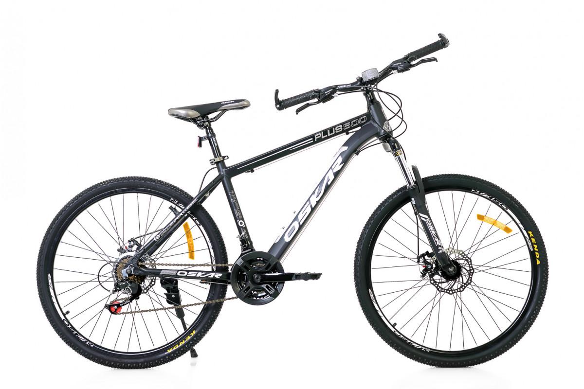 """Фото Велосипед Oskar 26""""Plus 500 черный (26-16011-bk) с официального сайта OSKAR™"""