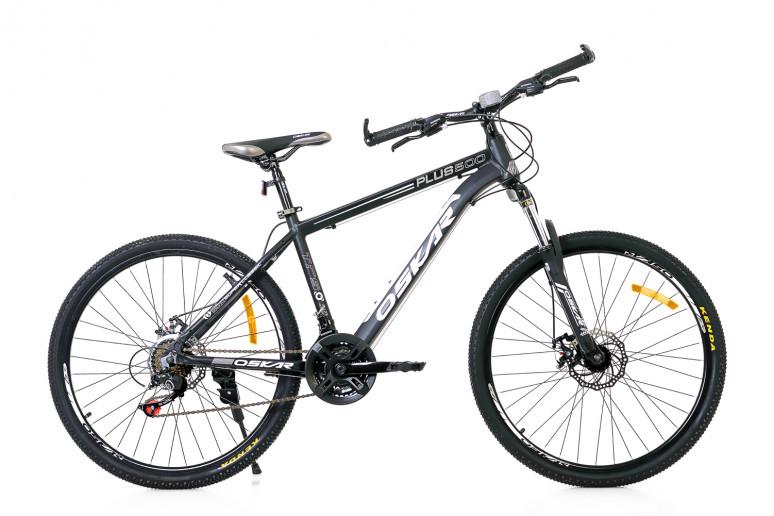 """Велосипед Oskar 26""""Plus 500 черный (26-16011-bk)"""