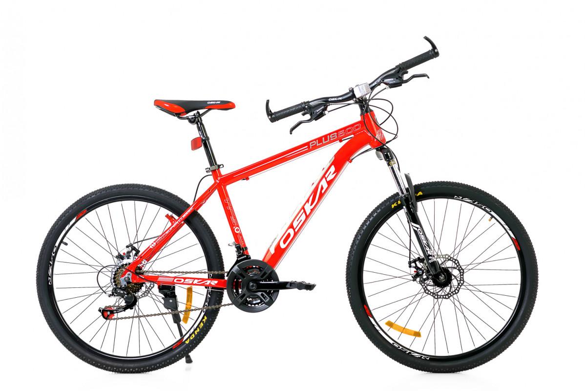 """Фото Велосипед Oskar 26""""Plus 500 красный (26-16011-rd) с официального сайта OSKAR™"""