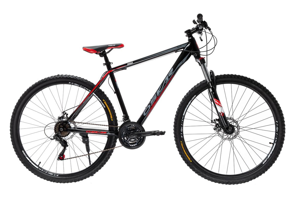 """Фото Велосипед Oskar 29"""" 550 черно-красный (29-1848-rd) с официального сайта OSKAR™"""