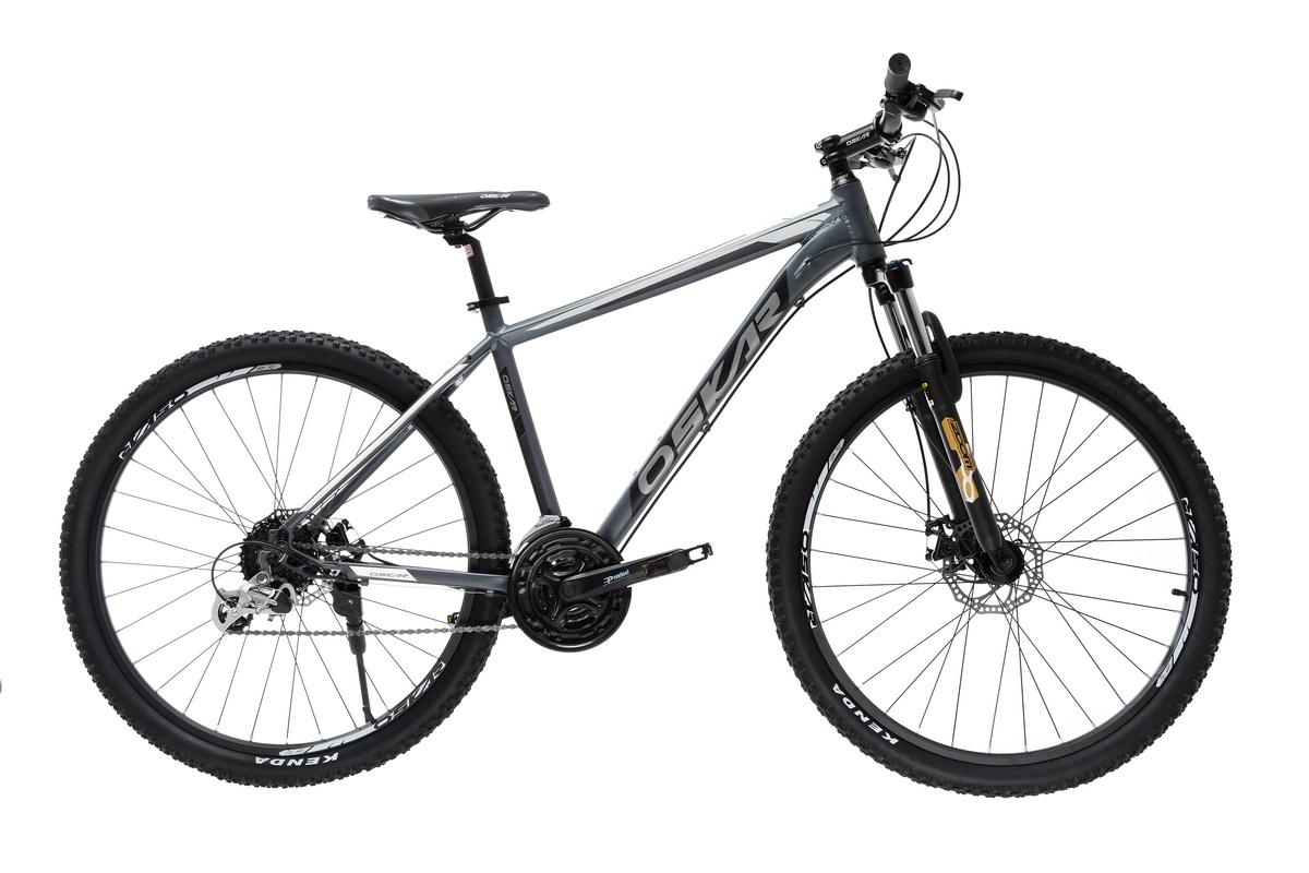 """Фото Велосипед Oskar 27,5""""AIM серый (27,5-aim-gr) с официального сайта OSKAR™"""
