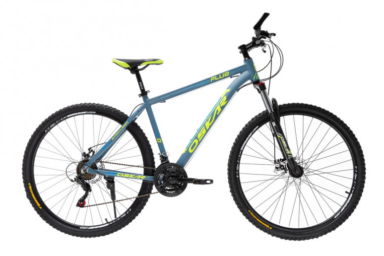 """Велосипед Oskar 26""""Plus 500 серо-синий (26-16011-gr)"""