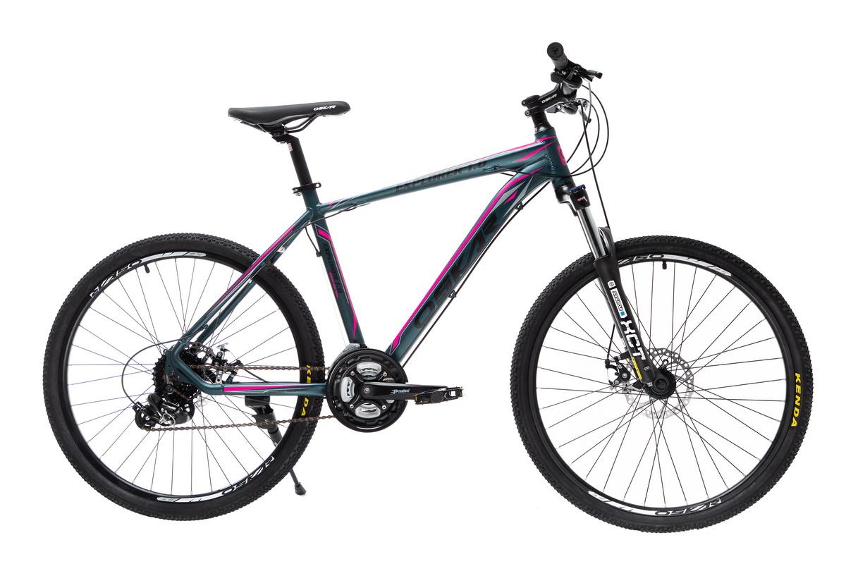 """Фото Велосипед Oskar 26""""EXPLORER 1.0 темно-зеленый металлик (26-1804-gn) с официального сайта OSKAR™"""