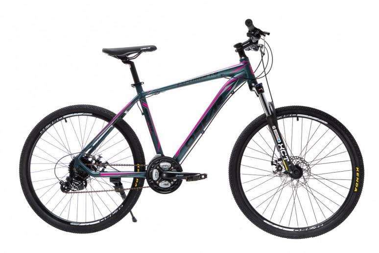 """Велосипед Oskar 26""""EXPLORER 1.0 темно-зеленый металлик (26-1804-gn)"""