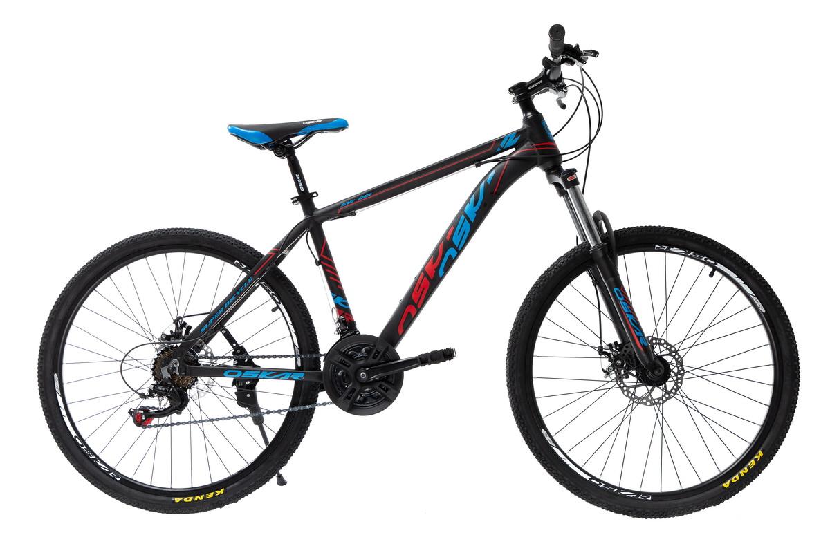 """Фото Велосипед Oskar 26""""SW-001 черный-красный-синий (26-1814-br) с официального сайта OSKAR™"""