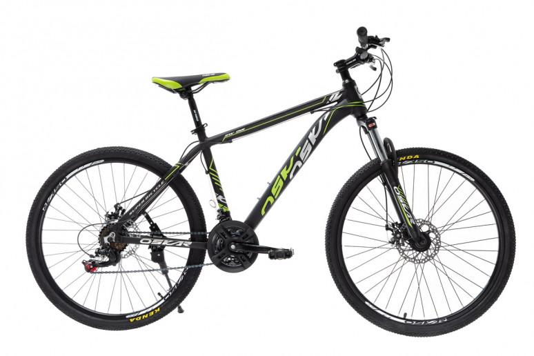 """Велосипед Oskar 26"""" SW-001черно-зеленый (26-1814-bg)"""