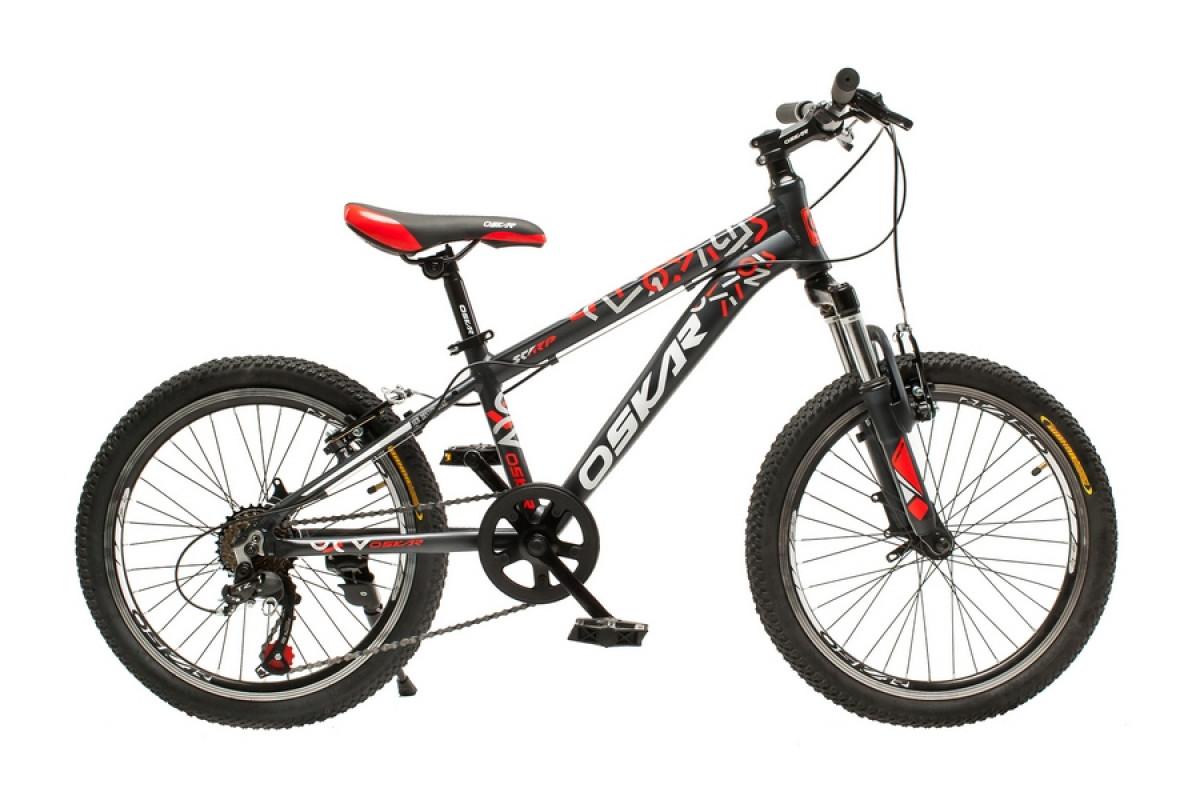 """Фото Велосипед Oskar 20""""SCARP черно-красный (20-1833-rd) с официального сайта OSKAR™"""