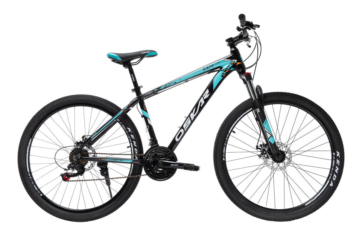 """Фото Велосипед Oskar 27,5"""" SAFE 100 черный (27,5-1812-bk) с официального сайта OSKAR™"""