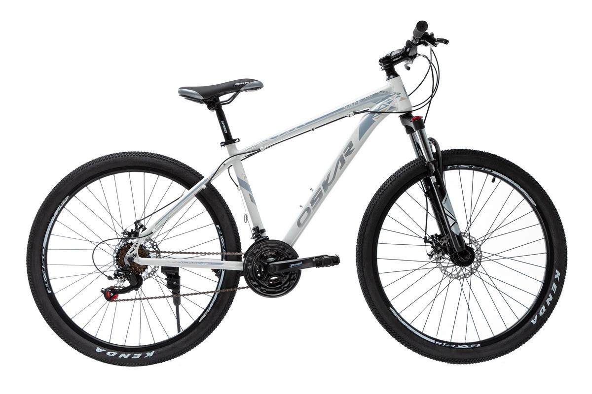 """Фото Велосипед Oskar 27,5"""" SAFE 100 белый (27,5-1812-wt) с официального сайта OSKAR™"""